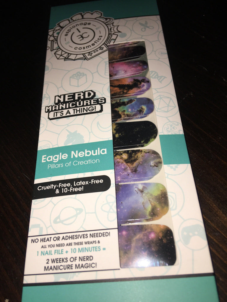 Eagle Nebula-Nail Wraps-Espionage Cosmetics