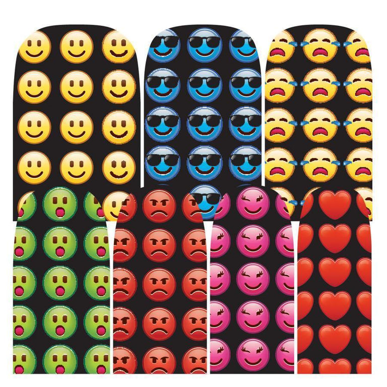 Emoji (Discontinued)-Nail Wraps-Espionage Cosmetics