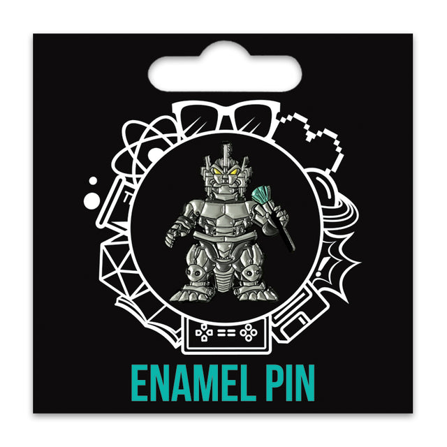 Mecha Merch Enamel Pin
