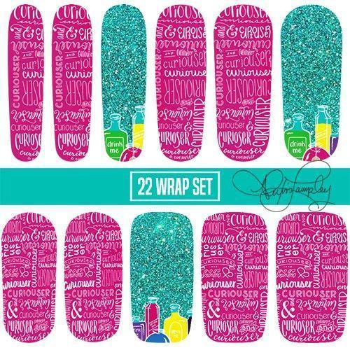Go Ask Alice-Nail Wraps-Espionage Cosmetics