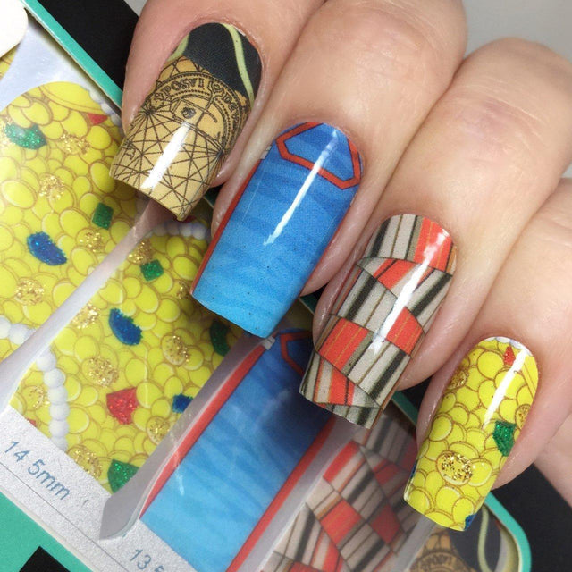 Hey, You Guys!-Nail Wraps-Espionage Cosmetics