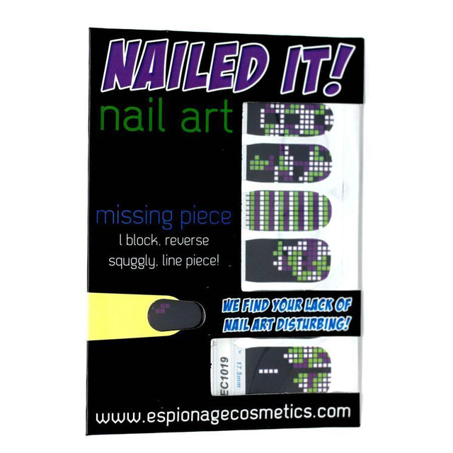 Missing Piece (Discontinued)-Nail Wraps-Espionage Cosmetics