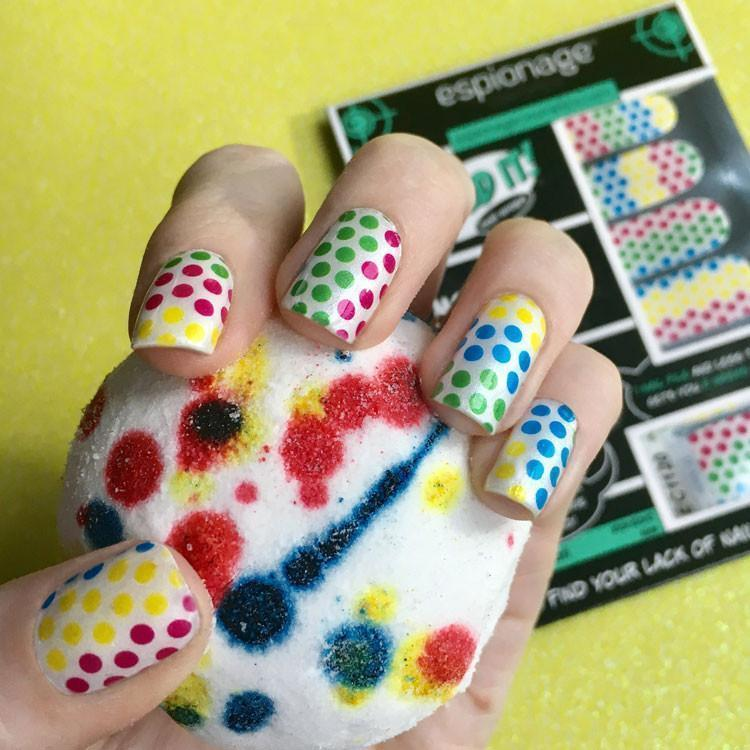 Moar Dots!-Nail Wraps-Espionage Cosmetics