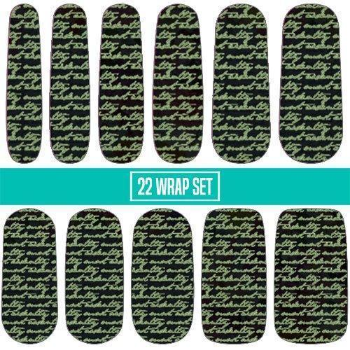 Most Ardently-Nail Wraps-Espionage Cosmetics