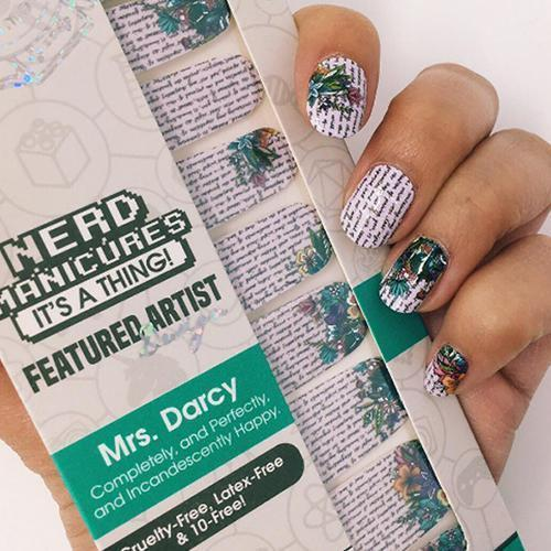 Mrs. Darcy-Nail Wraps-Espionage Cosmetics