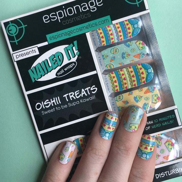 Oishii Treats-Nail Wraps-Espionage Cosmetics