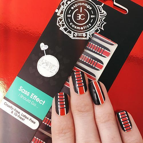 Sass Effect-Nail Wraps-Espionage Cosmetics