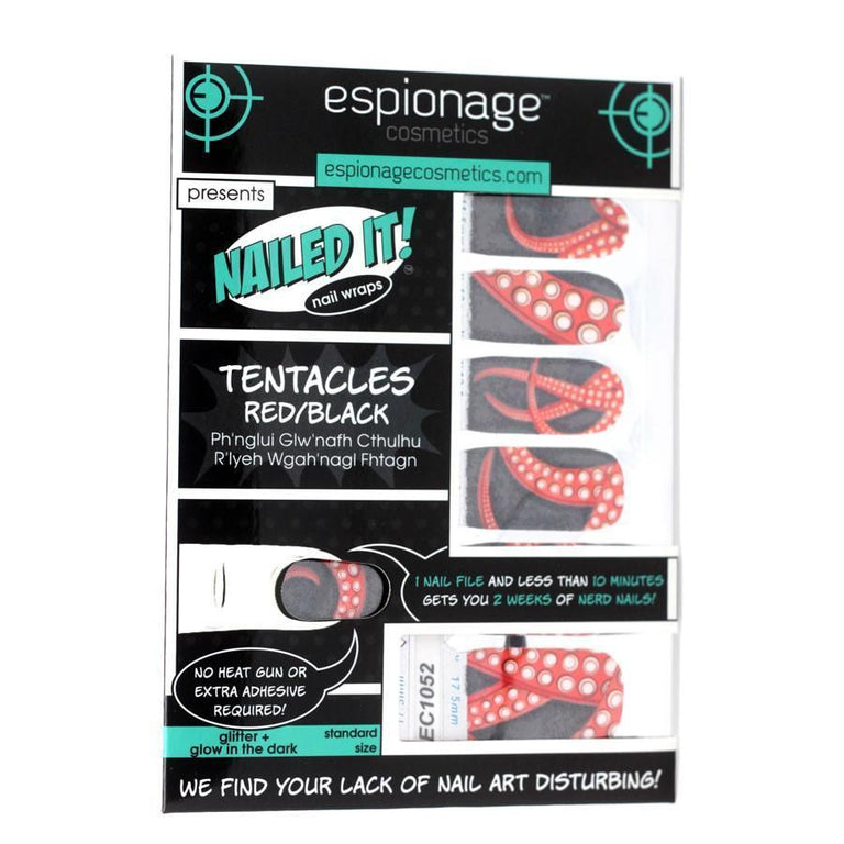 Tentacles-Nail Wraps-Espionage Cosmetics