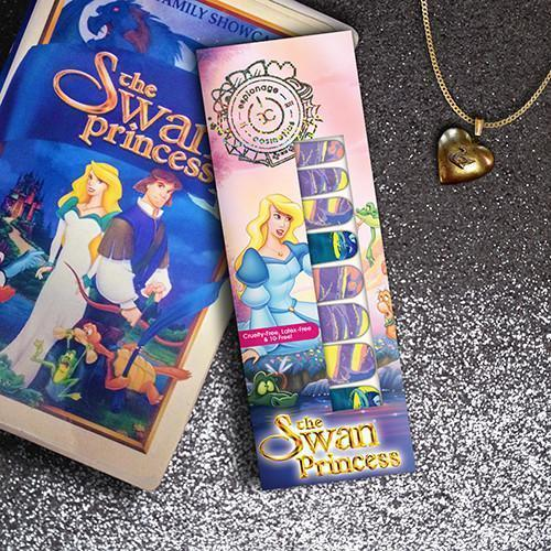 The Swan Princess: Moonlight Transformation-Nail Wraps-Espionage Cosmetics