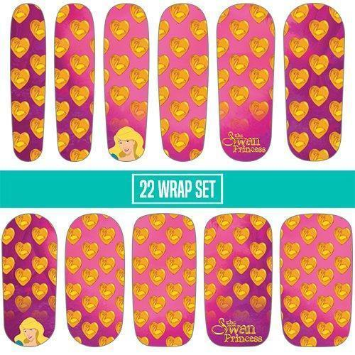 The Swan Princess: Pink Locket-Nail Wraps-Espionage Cosmetics