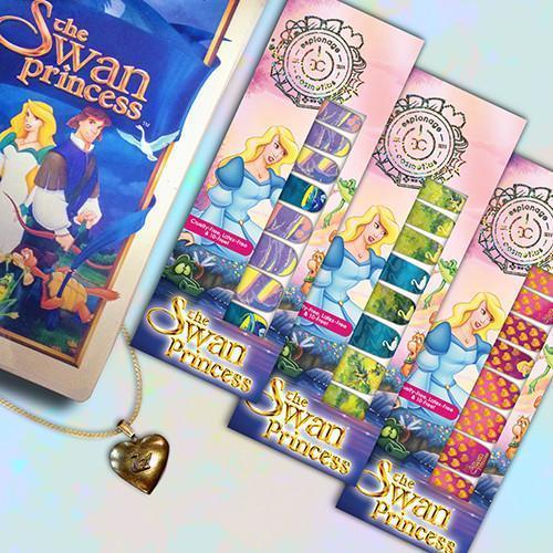 The Swan Princess: Swan Lake-Nail Wraps-Espionage Cosmetics