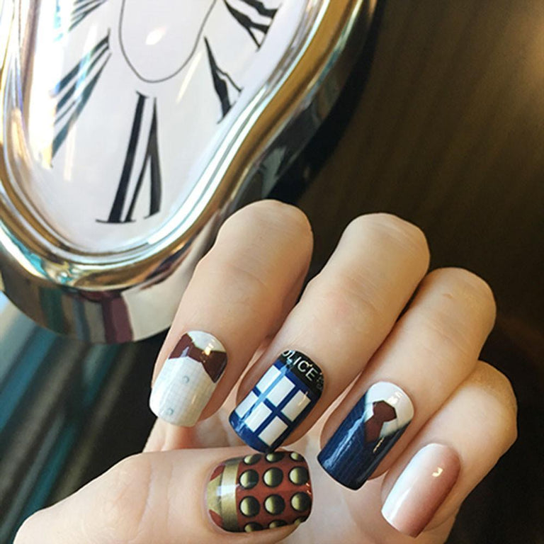 Time Lord (Limited Time)-Nail Wraps-Espionage Cosmetics