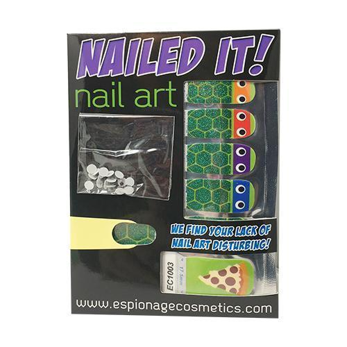 Turtles-Nail Wraps-Espionage Cosmetics
