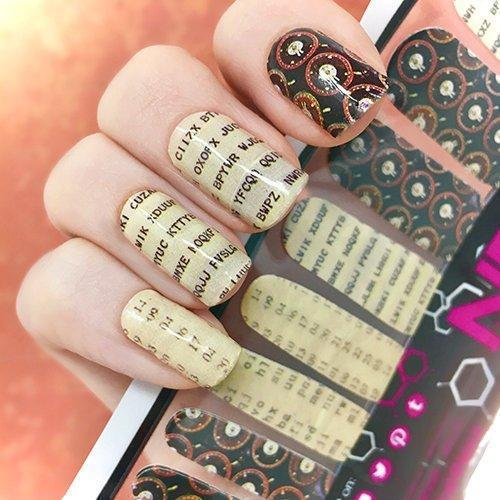 Unbreakable Code-Nail Wraps-Espionage Cosmetics