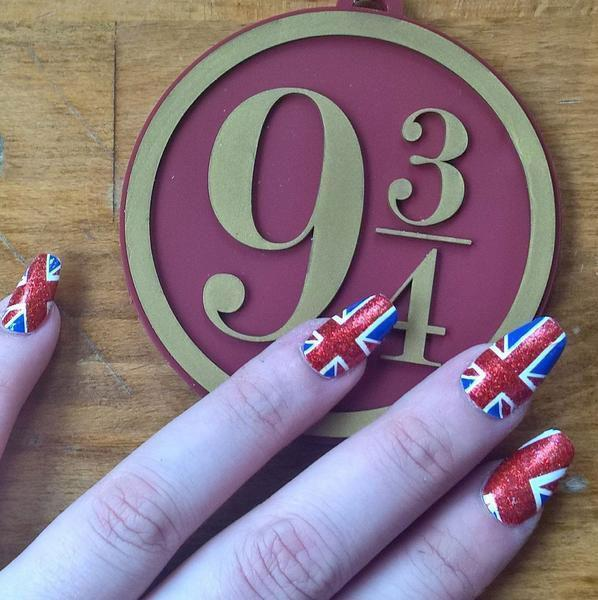 Union Jack-Nail Wraps-Espionage Cosmetics