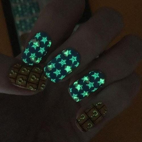 World 1-1-Nail Wraps-Espionage Cosmetics