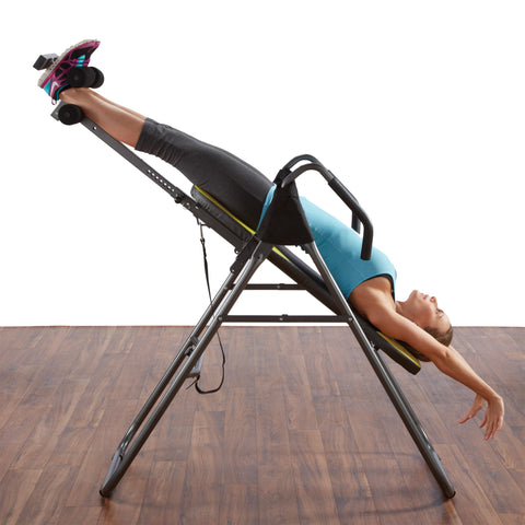 ... Out To Buy An Inversion Table, Please Note That Those With Heart Or  Circulatory Conditions Should Check With Their Doctors Before Hanging  Upside Down.