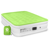 Air Comfort Dream Easy Queen Size Raised Air Mattress with Built-in Pump - Pure Fitness