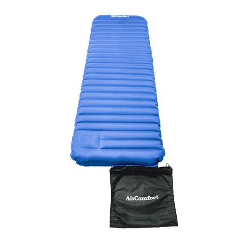 Air Comfort Roll and Go Lightweight Sleeping Pad - Blue - Pure Fitness