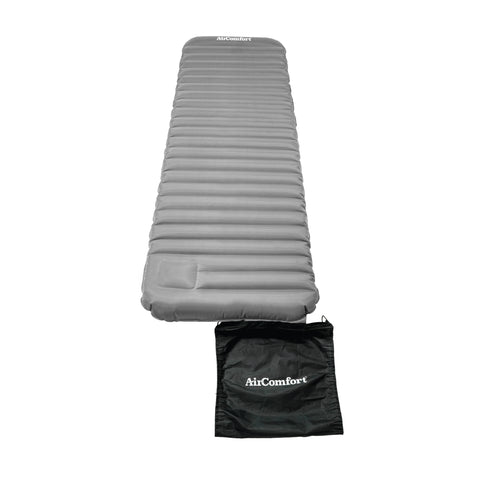 Air Comfort Roll and Go Lightweight Sleeping Pad - Grey - Pure Fitness