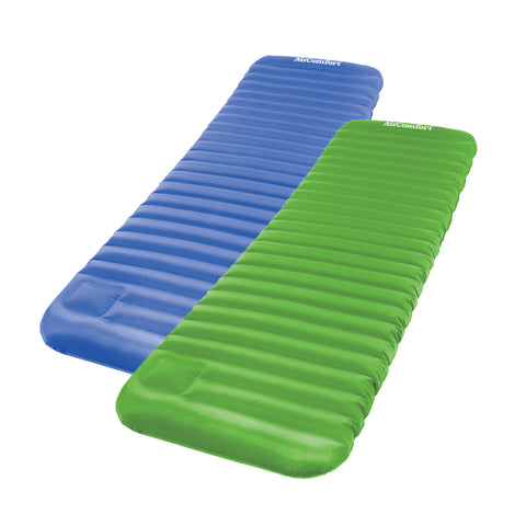 Air Comfort Roll and Go Inflatable Sleeping Pad 2pc Set - Pure Fitness
