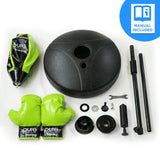 Pure Boxing Punch & Play Punching Bag for Kids - Lime