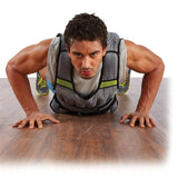 Pure Fitness 20lb Adjustable Weighted Vest - Pure Fitness
