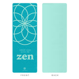 Life Energy 4mm EkoSmart Yoga Mat - Zen Drop - Pure Fitness