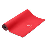 Life Energy 6mm Reversible Yoga Mat Eco Friendly - Ruby - Pure Fitness