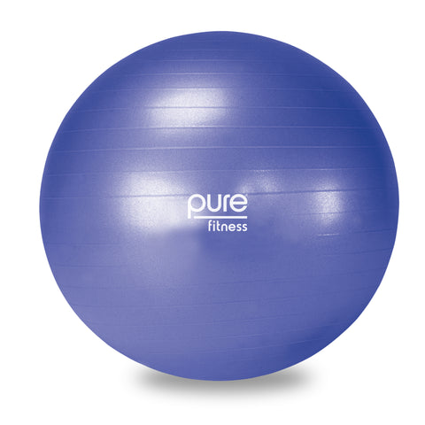 Pure Fitness 65cm Professional Exercise Stability Ball - Pure Fitness