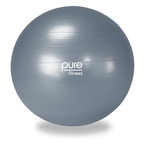 Pure Fitness 75cm Professional Exercise Stability Ball - Pure Fitness