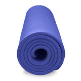 Pure Fitness Deluxe 12mm Exercise Mat (Iris) - Pure Fitness