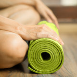 Pure Fitness Yoga Mat 3.5mm - Lime - Pure Fitness
