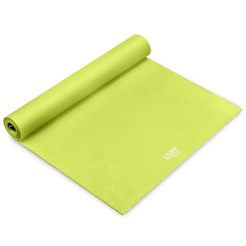 Pure Fitness 3.5mm Yoga Mat (Lime)