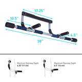 Pure Fitness Multi-Purpose Doorway Pull-Up Bar - Pure Fitness