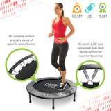 Pure Fitness 38-inch Exercise Trampoline - Pure Fitness