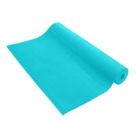 Pure Fitness 3mm Yoga Mat (Teal) - Pure Fitness