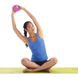 Pure Fitness 2 lb Pilates Weighted Toning Ball - Pure Fitness