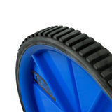 Pure Fitness Ab Roller Abdominal Wheel - Blue - Pure Fitness