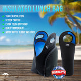 "12"" BLUE LUNCH BAG SET"