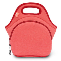 "12"" Cotton Lunch Bag Red"