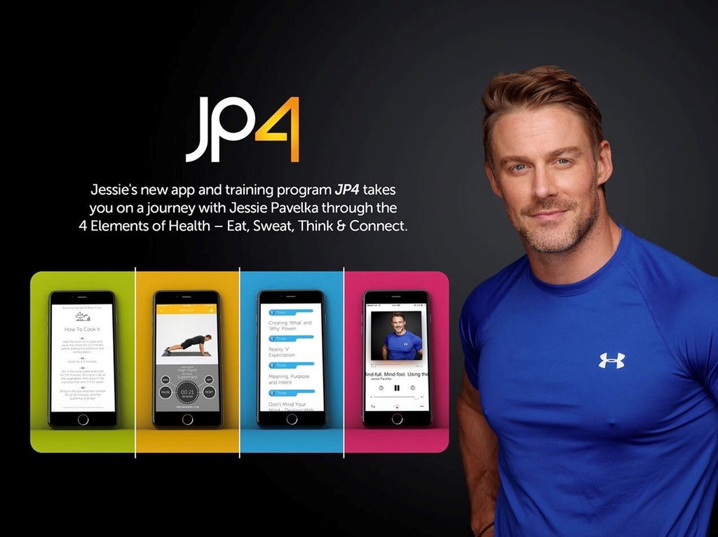NEWS!! Jessie Pavelka's new Wellness App 'JP4' is available NOW!