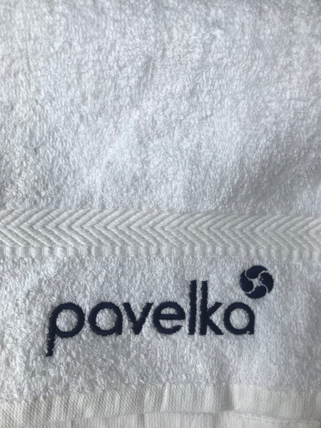 Pavelka White Sports Towel