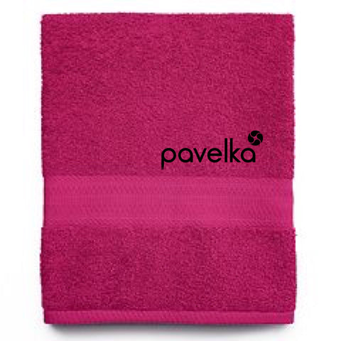 Pavelka Pink Sports Towel