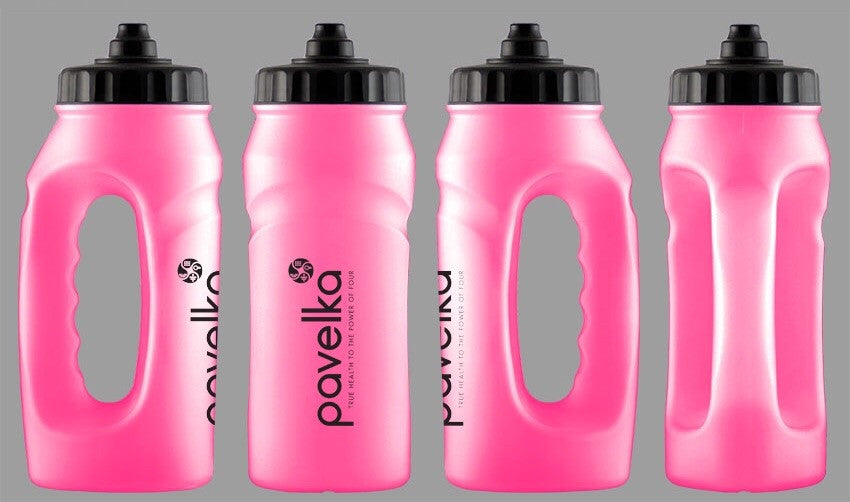 Pavelka Pink Jogger Water Bottle