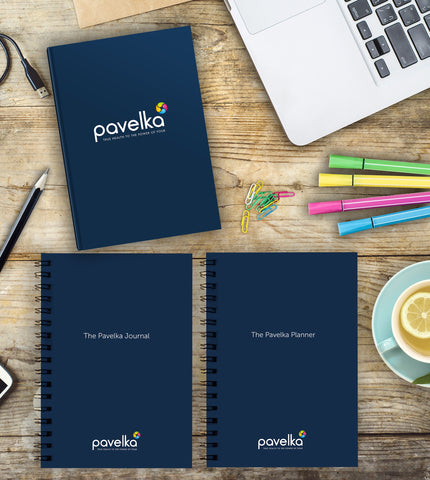The Pavelka Way Manual, The Pavelka Planner, The Pavelka Journal