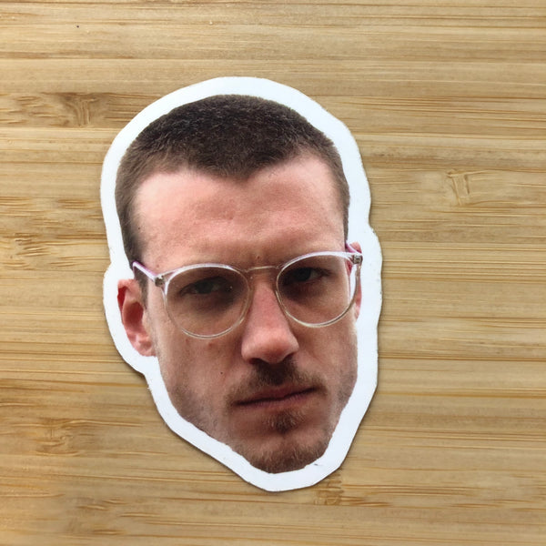 iain here sticker