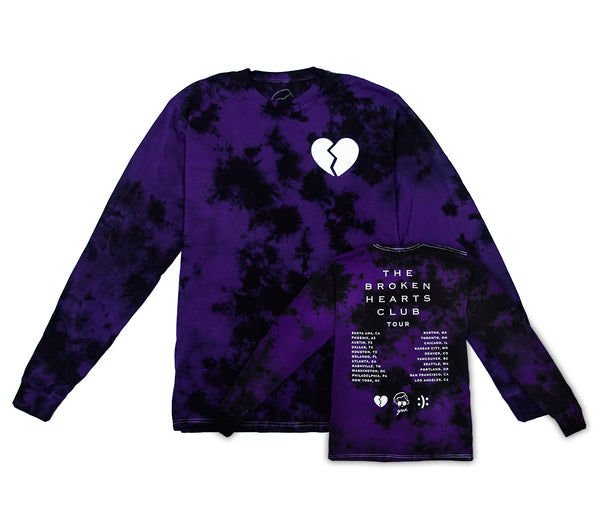 the broken hearts club tour long sleeve