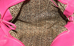 Snooki's Chain of Love Handbag Leopard / Pink