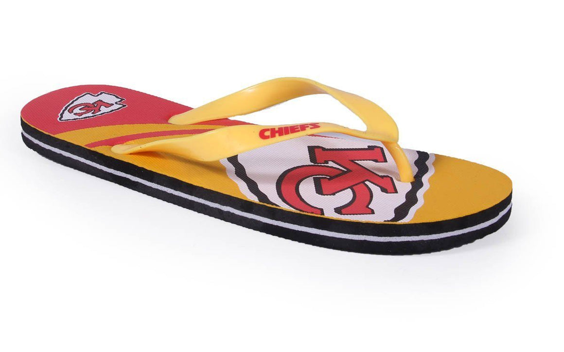 Kansas City Chiefs Big Logo Sandals